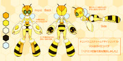 ハチボイド 「ハチミツ収集任務を受託しました」