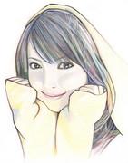 色鉛筆3本画(赤・青・黄)