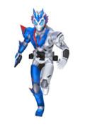 仮面ライダーバルカン MMDモデルGIF