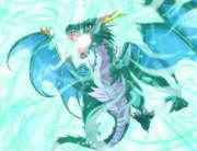自作RPG 必殺技絵 ドラゴン