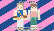【Minecraftスキン】Ⅱジョウイとナナミ【幻水】