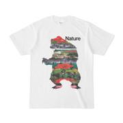 シンプルデザインTシャツ モンタージュ・ベアー