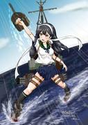 潮「敵艦載機発見!潮、対空砲火、始めます!」