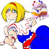 アリスとパチュリー人形