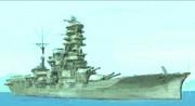 戦艦「伊勢」-迷彩でらくがき-