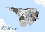 スホーイ PAK FA T-50