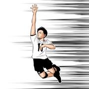 【男バレ】11西田有志 描いてみた。W杯2019男子バレーボールワールドカップ