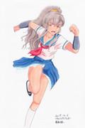 コピック着色 服部瞳子さんぽいの39 プロジェクトTo子