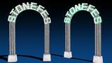 【第三回STONE祭り】石のアーチステージ