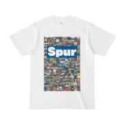 シンプルデザインTシャツ Spur/176_A(BLUE)