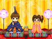 センラさんとセンコちゃんでひな祭り