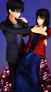 ダンス的な?コクトー両儀さん縦長版!【空の境界MMD】