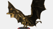KINGGHIDORAH(KOM版):フィギュア風MMDゴジラ大図鑑81