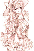 【ラフ】☆ロリ魔理沙
