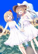 白ワンピルミフラ(紅楼夢15・新刊サンプル③)