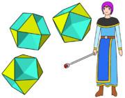 八面半八面体と少年魔法使い