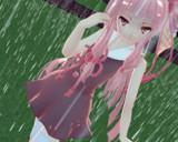 雨は悲しみを流してくれるから好きごっこをしてる茜ちゃん