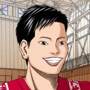 【男バレ】西田有志選手 似顔絵描いてみた♪