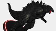 ゴジラ(KOM版):フィギュア風MMDゴジラ大図鑑83