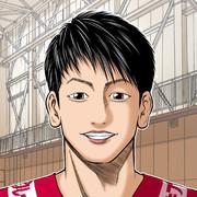 石川祐希選手描いてみますた!W杯2019男子バレーボール
