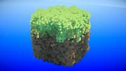マイクラ巨大草ブロック
