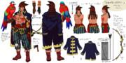 【イスタカ】海賊風衣装