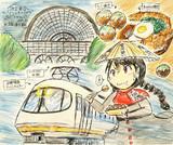 雨風のなか豊鉄・名鉄・近鉄でなんとか大阪に到着
