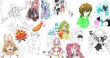【配信1周年記念】お絵かきチャットログ20191012