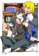 WEBとMARU のルームシェア☆