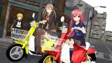 卯月と熊野 バイクでお散歩