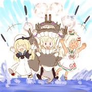 アンツィオ沖棲姫と愉快な駆逐たち