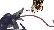 モスラ2019対スカルクローラー(MMDモデル配布
