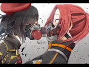 【コドヴェ】ガスマスク越しのキス(ヤク主♀)