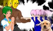 清川姉貴をかけて争う二人