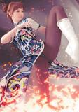 炎の格闘少女