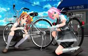 車よりもバイクよりも〇〇〇よりもママチャリ♪