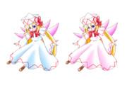 リリーホワイトの服の色