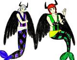 敵になったルーネスとアルクゥ