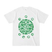シンプルデザインTシャツ M_Ladybird(GREEN)