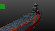 宇宙戦艦ヤマト 船体 上甲板
