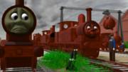 1960年代、壊されてゆく機関車たち……