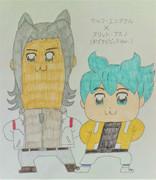 ウルフとフリット(ポプテピピックVer.)