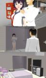 【MMD MODEL】シャワー付き休憩室配布します【DL】