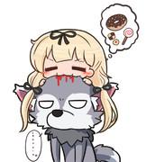 狼の夕立コス