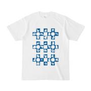 シンプルデザインTシャツ Cr/MONSTER(BLUE)