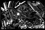 [灼熱のリベリオン]二宮飛鳥【切り絵】