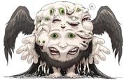 フォロワーの好きな要素を詰め込んだ創作獣を描くやつ その7