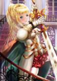 金髪女騎士