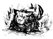 遊び盛りの大和猫