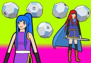 切稜立方体と少女